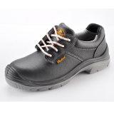 Zapatos de seguridad del cuero genuino de la exportación para el hombre L-7246