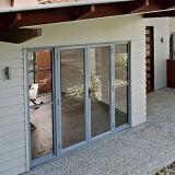 Porte en aluminium européenne de double vitrage de type pour la porte intérieure (FT-D70)