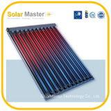 2016 coletores térmicos solares novos do tubo de vidro do projeto