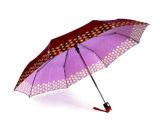 プリントサテンフォールドのOpen&Closeの3本の傘(YS-3FD22083970R)