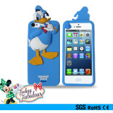 卸し売りCute Soft Cartoon Silicon Phone CoverかiPhone 4GS/5GSのための言い分