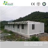 Contenedores Casa con vidrio, Prefab Container House, Inicio de contenedores Oficina