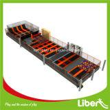 400 Quadratmeter-freie springende Trampoline mit Schaumgummi-Vertiefung-Innenschlag-Park