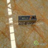 Amarillo / beige / gris Emperador del azulejo de mármol pulido de oro de la losa / piso / revestimiento de la pared