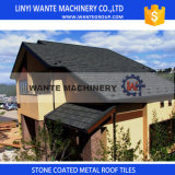 Qualitätsversprechungs-Dach-Materialien, versanden überzogene Metalldach-Fliesen, Stahldach-Fliese