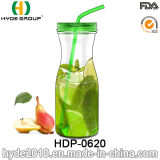 최신 판매 다채로운 BPA는 해방한다 Tritan 주스 물병, 900ml 플라스틱 물병 (HDP-0620)를