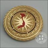 고대 금관 악기 금에 의하여 도금되는 금속 동전 (GZHY-JZ-001)