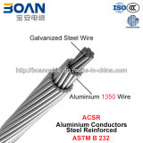 ACSR, aço de alumínio dos condutores reforçado (ASTM B 232)
