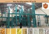 Máquina de la molinería del maíz del molino harinero del maíz del conjunto completo