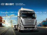 Груз тележек сброса Кита Hyundai сверхмощный перевозит тележки на грузовиках трактора
