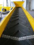 Глубоки Inclined сделанная по образцу резиновый конвейерная для гравия