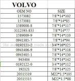 Volvo FMの後部車輪ハブのボルト等級10.9