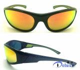 El plástico se divierte las gafas de sol con insignia de encargo