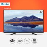 televisión elegante de 40-Inch Dled 1080P HD con la aleación de aluminio Fram 40dh-W8