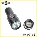 luz recarregável da mão da patrulha de segurança de 600lm 26650battery Samsung (NK-2661)