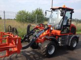 0.8 Tonne Loading Capacity Small Loader Er08 mit Snow Blade