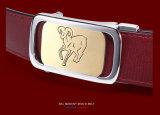 Cinghia personalizzata superiore di stile di modo di marchio della cinghia di cuoio del grado per gli uomini