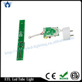 Hersteller High Lumen ETL T8 1.2m G13/Single Pin/R17D LED Tube (18W)