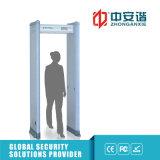 Puerta estupenda del detector de metales de las zonas de la sensibilidad 6/12/18 para la situación de gama alta