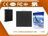 Pantalla de visualización de alquiler de interior de LED de la alta calidad P3.91 500X500 RGB