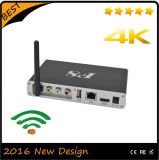 Коробка Bluetooth 3D WiFi алюминиевая TV Android 4.4 Amlogic S812