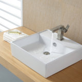 Dispersore di ceramica della lavata della stanza da bagno dell'hotel per il contatore di cui sopra Sn109-019