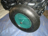 Rotella pneumatica della rotella della riga della barra del pneumatico della carriola/gomma della rotella