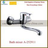 Faucet de água de bronze do dissipador de cozinha dos mercadorias sanitários