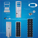 ISO9001 ApprovalのOne Solar LED Street LightのWarranty 5年の50With60W All