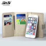 iPhone 6을%s Purse 분리되는 Soft PU Leather Case