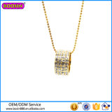 Collar de encargo de la joyería de la manera de la alta calidad con Cristal # 17609
