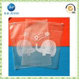 De afgedrukte Zak van de Ritssluiting van de Verpakking Plastic voor Kleren (JP-Plastic023)