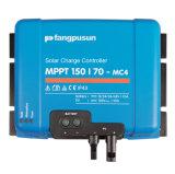 Controlemechanisme van de Lader van de ZonneMacht van Ce RoHS Fangpusun het Blauwe 150VDC MPPT150/70 Mc4 70A voor 12V 24V 36V 48V AGM van het Gel van de Batterij van het Lithium