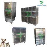 Veterinärkrankenhaus-medizinisches Edelstahl-Haustier-Hundehaus