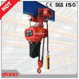Phase unique Electric Chain Hoist avec Electric Trolley