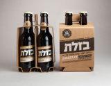 ビールはビールパッケージボックスを囲む