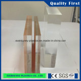 Tranparent Cast Acrylic Sheet para Exhibition Display