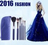 2016 balais cosmétiques de renivellement d'outil de mode de logo fait sur commande élégant neuf de jeu