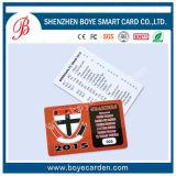 Tarjeta inteligente impresa hermosa del regalo de la calidad de miembro plástica de la tarjeta