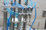 Automatische Flaschenreinigung-füllende mit einer Kappe bedeckende Maschine mit Etikettiermaschine