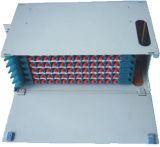 12, 24, 48, 72, 96, painel de correção de programa da fibra óptica de 144 núcleos, painel de correção de programa da gaveta, painel de correção de programa de fibra interno