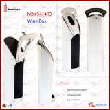 Deux Bottles Wine Box avec PVC Windows 5414