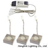 1.5W Ce Square LED Light Furniture Under Cabinet LED Light
