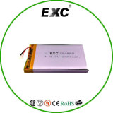 Mobile Cellphone를 위한 704069 3.7V 2300mAh Rechargeable Li Polymer Battery