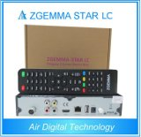 Черная коробка кабельного телевидения приемника LC DVB-C цифров Zgemma-Звезды цвета