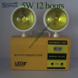 Sophia Rechargeable 5W Twin Heads LED Emergency Light
