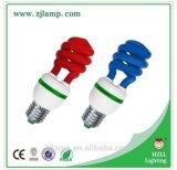 Ctorch/lámpara ahorro de energía colorida espiral de la antorcha media con Ce