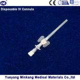 주입구 20g를 가진 물집에 의하여 포장되는 의학 처분할 수 있는 IV Cannula/IV 카테테르