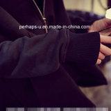 Revestimento ocasional da camisola do algodão das mulheres novas por atacado do lazer