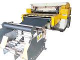 De Hg-B100t máquina de corte hidráulica automática do rolo de alimentação do rolo completamente